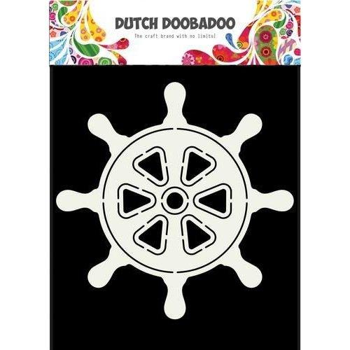 470713687 - DDBD Dutch Card Steering Wheel Ship  145 x 145mm