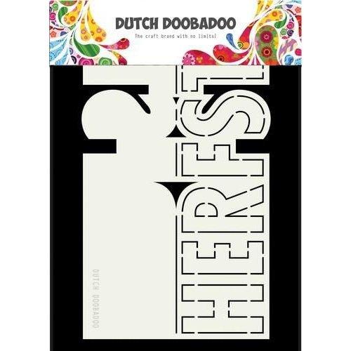470713688 - DDBD Dutch Card Autumn  200 x 128mm