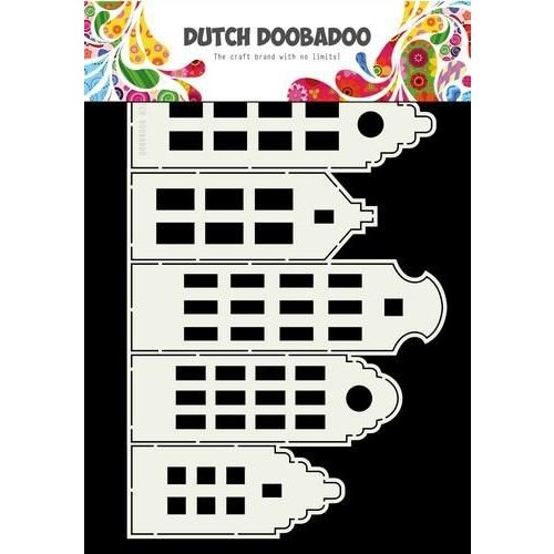 470713696 - DDBD Dutch Card Houses 295 x 205mm