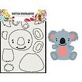 Dutch Doobadoo 470.713.837 - Dutch Doobadoo Card Art Built up Koala A5 470.713.837
