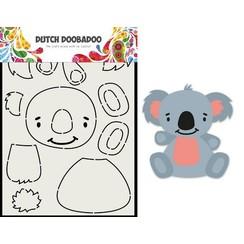 470.713.837 - Dutch Doobadoo Card Art Built up Koala A5 470.713.837