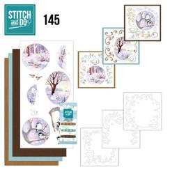 STDO145 - Stitch and Do 145 - Jeanine's Art - Winter Landscape