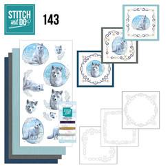 STDO143 - Stitch and Do 143 - Amy Design - Winter Foxes