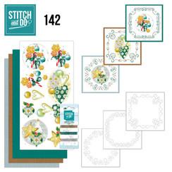 STDO142 - Stitch and Do 142 -Jeanine's Art - Christmas Baubles