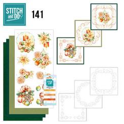 STDO141 - Stitch and Do 141 -Jeanine's Art - Salmon Christmas Baubles