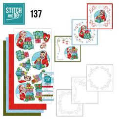 STDO137 - Stitch and Do 137 - Yvonne Creations - Big Guys - Christmas