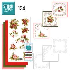 STDO134 - Stitch and Do 134 - Precious Marieke - Touch of Christmas