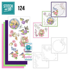 STDO124 - Stitch and Do 124 - Happy Birds