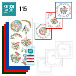 STDO115 - Stitch and Do 115 Christmas Birds