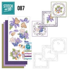STDO087 - Stitch and Do 87 - Purple Flowers
