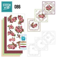 STDO086 - Stitch and Do 86 - Birds and Roses