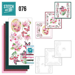 STDO076 - Stitch and Do 76 - Pink Flowers