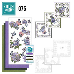 STDO075 - Stitch and Do 75  Amy Design - Hortensia