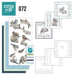 STDO072 - Stitch and Do 72 AD Vintage Winter