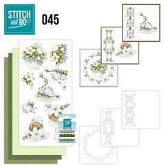 STDO045 - Stitch and Do 45 - Winterflowers