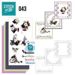STDO043 - Stitch and Do 43 - Purple Colored Christmas
