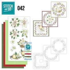 STDO042 - Stitch and Do 42 - White Christmas Flowers