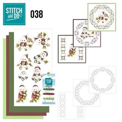 STDO038 - Stitch and Do 38 - Christmas Children