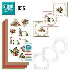 STDO036 - Stitch and Do 36 - Kerstversieringen