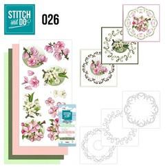 STDO026 - Stitch and Do 26 - Spring Flowers