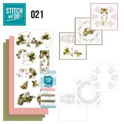 STDO021 - Stitch and Do 21 - Rustic Christmas