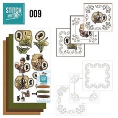 STDO009 - Stitch and Do 9 - Wijn en Bier