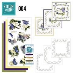 STDO004 - Stitch and Do 4 - Voorjaarsbloemen