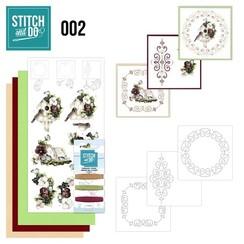 STDO002 - Stitch and Do 2 - Vogelhuisje