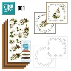 STDO001 - Stitch and Do 1 - Bloemen
