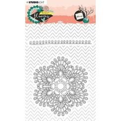STAMPSFL438 - Stamp A6, Sweet Flowers nr.438