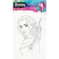 STAMPFC473 - Stamp (1) A5 Fairy, Fantasy Collection 3.0 nr.473