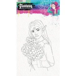 STAMPFC475 - Stamp (1) A5 Fairy, Fantasy Collection 3.0 nr.475