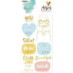 RUBKJ03 - Karin Joan Rub on Sticker Missees Collection, nr.03