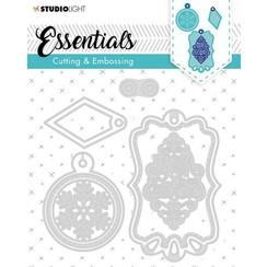 STENCILSL321 - SL Cutting & Embossing Die Label Essential, nr.321