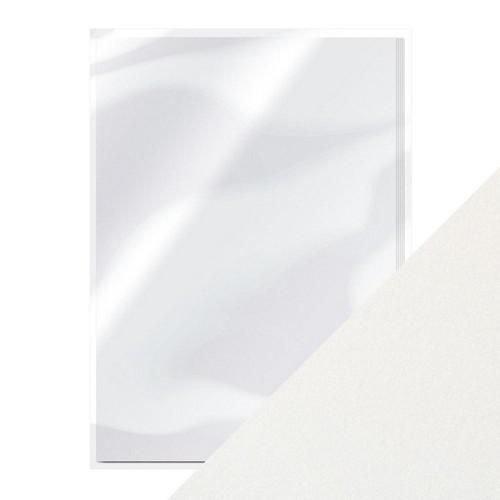 Tonic Studios 9497E - Tonic pearlescent karton - pearl white5 vl A4