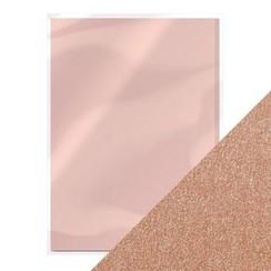 9503E - Tonic pearlescent karton - blushing pink 5 vl A4