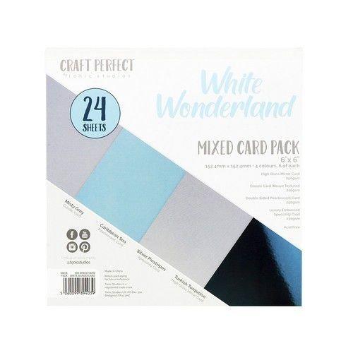 Tonic Studios 9403E - Tonic Studios Craft P. 6x6 Mixed Book White Wonderland 24 vl