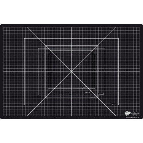 25303 - CraftEmotions Snijmat zware kwaliteit 30x45cm