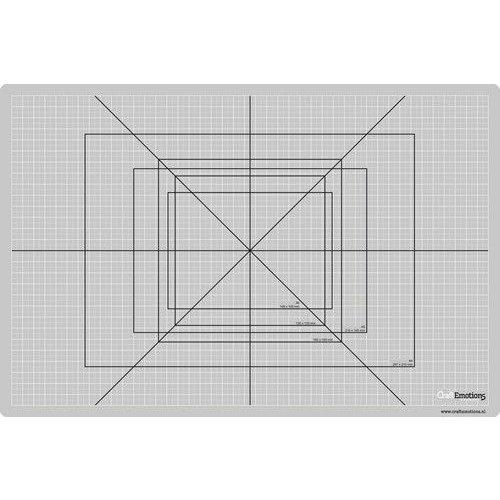 21303 - CraftEmotions Snijmat dun 30x45cm