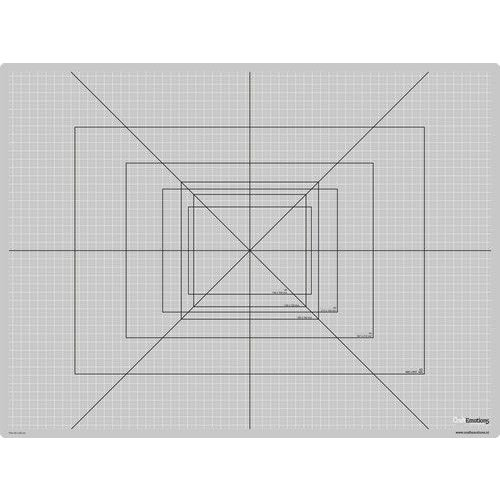 21302 - CraftEmotions Snijmat dun 45x60cm