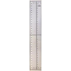 2149H - Cutting ruler with metal strip 30cm