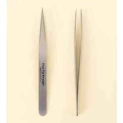 12080-8021 - Pincet stainless steel fijne punt recht 12,5 cm -8021