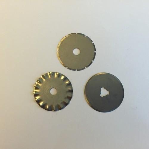 12411-1122 - Spare Blades forrolmes , 28mm, 3pcs