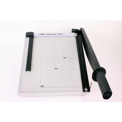 PAT001 - Nellie s Choice XL metal Papercutter with slider (metric-scale)