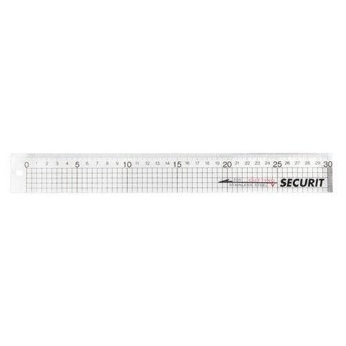 LILS-30 - Securit - Snijliniaal met platte metalen strip 30