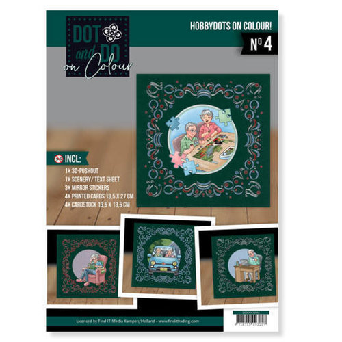 Yvonne Creations DODOOC10004 - Dot and Do on Colour 4