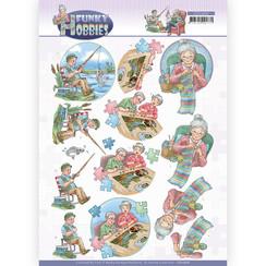 CD11606 - 10 stuks Knipvel - Yvonne Creations - Funky Hobbies - Knitting
