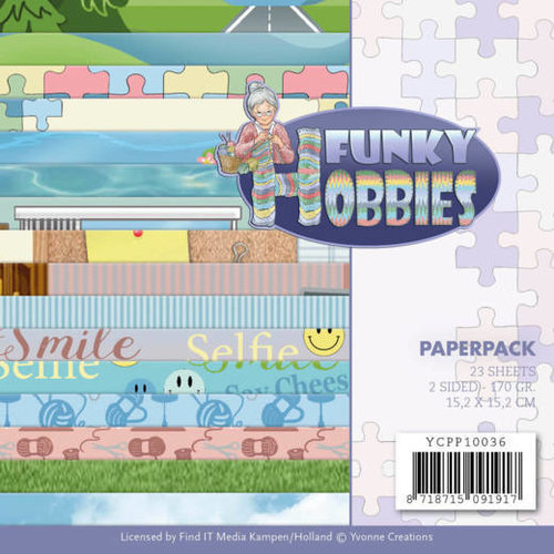 Yvonne Creations YCPP10036 - Papierpak - Yvonne Creations - Funky Hobbies
