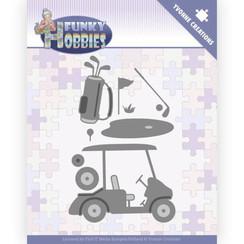YCD10229 - Mal - Yvonne Creations - Funky Hobbies - Golf