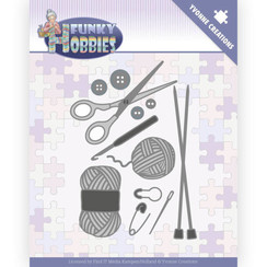 YCD10230 - Mal - Yvonne Creations - Funky Hobbies - Knitting